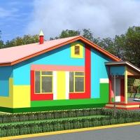 Омский район получит детский сад и спортплощадку