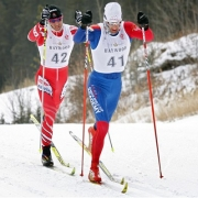 Морозы не остановили лыжные соревнования в Крутой Горке