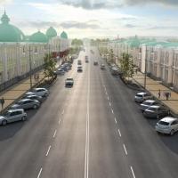В Омске улице Ленина добавят парковок и фонтанов
