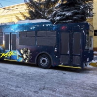 Омские общественники запустят «космический» троллейбус