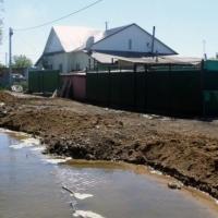Паводковая обстановка в Большеречье ухудшается