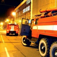 В Омске ночью горел частный дом