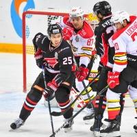 Омский «Авангард» забросил три безответные шайбы в ворота «Куньлунь Ред Стар»