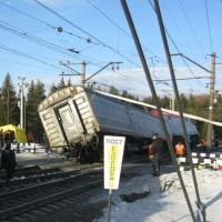 СМИ: В поезде, попавшем в катастрофу на Урале, ехали дети из Омска