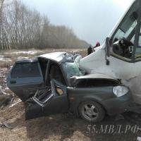 Водитель маршрутки Омск-Любинский ответит перед судом за смерть пятерых человек в ДТП