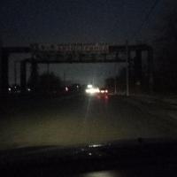Жители жалуются на отсутствие освещения на улицах Омска