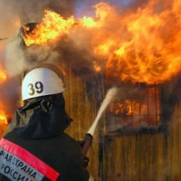 В Омской области на пожаре травмирована двухлетняя девочка