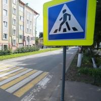 Меньше 50% дорог возле омских учебных заведений оборудованы пешеходными переходами по стандарту