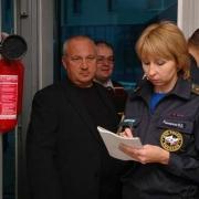 Омский пожарный надзор погасил огонь в хлебных печах