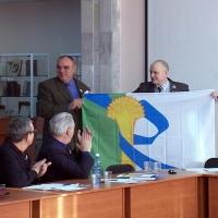 Иртышское и Розовское сельские поселения Омской области зарегистрировали свой герб