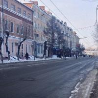 Весной 2017 года в Омске начнется благоустройство второй части улицы Ленина