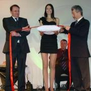 Открытие автосалона Nissan в Омске посетил Франсуа де Буйе