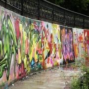 У омских граффитистов отобрали баллончики с краской