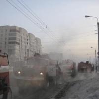 В Омске из горящей жилой многоэтажки спасли 6 человек