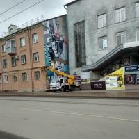 У «Дома актера» в Омске исчезнет граффити