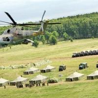 Российские войска встали на границе с Украиной