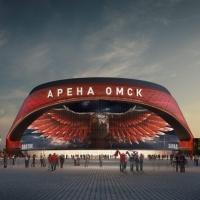Посмотреть на строительство «Арены Омск» можно в прямом эфире