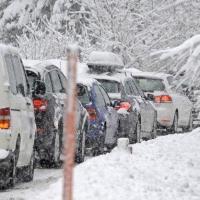 Омские полицейские проверят снег на улицах