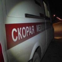 В Омске иномарка столкнулась с пассажирским микроавтобусом