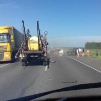 На трассе Омск-Новосибирск произошло смертельное ДТП