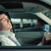 """Омич заснул за рулем """"семерки"""" и врезался в дорожный знак"""