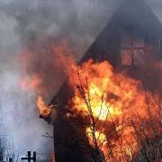 В Омской области во время пожара погибли два пенсионера