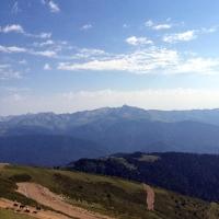 Виктор Назаров опубликовал в Instagram горный пейзаж