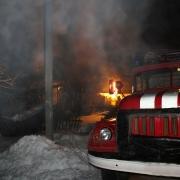 В Омске на пожаре погибли четыре человека