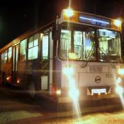 Для городского транспорта продлили режим работы в новогоднюю ночь