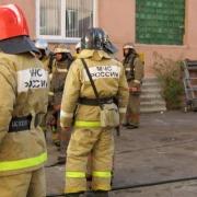 В Омске горела клиническая больница №1 имени Кабанова