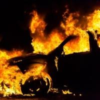 Ночью в Омске сгорели три иномарки