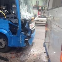 Семеро омичей пострадали в ДТП с автобусом и троллейбусом на Красном Пути