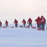 Омский школьник дойдет на лыжах до Арктики