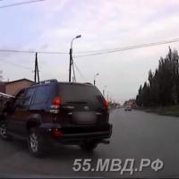 В Омске с разрешения отца внедорожником управлял 11-летний мальчик