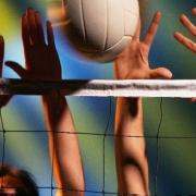 В волейбол сыграли дворами