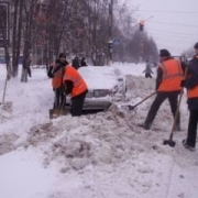 Омские дорожные службы работают в усиленном режиме