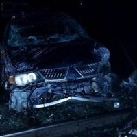 В Омске кочегар СТО угнал и разбил Mitsubishi