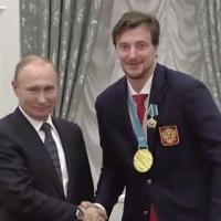 Экс-игрок омского «Авангарда» Калинин получил  орден Дружбы после победы на Олимпиаде