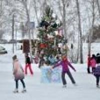 На новогодних каникулах в Омске работают 8 бесплатных катков