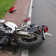 В омскую больницу попал мотоциклист после ДТП