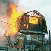 В День Победы мужчина сгорел у себя на даче