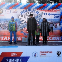 В гонке «Лыжня России-2017» приняли участие четырехлетние омичи