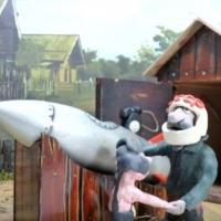 В Омске осужденные ЛИУ №10 создали пластилиновый мультфильм ко Дню космонавтики «Дедушкина мечта»