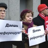 Омские активисты хотят провести 14 референдумов