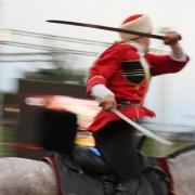 Омские казаки построят крытый ипподром для больных детей