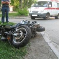 В Кировском округе Омска в ДТП пострадал 16-летний мотоциклист