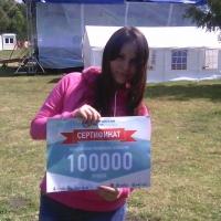 Омичка получила 100 тысяч рублей на социальный проект