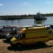 В Омске четыре человека погибли в столкновении теплохода с грузовой баржей