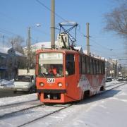 Трамвай № 1 остановят на несколько часов