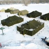 В Омской области на случай паводка появился городок жизнеобеспечения